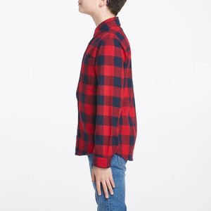 Rider By Lee Boys Check Shirt - Winter Check