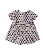 Animal Crackers Geo Dress - Print