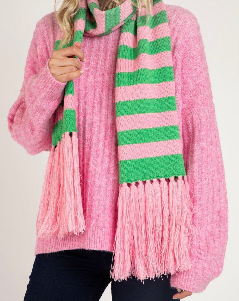 Betty Basic Lunar Scarf - Floss Stripe