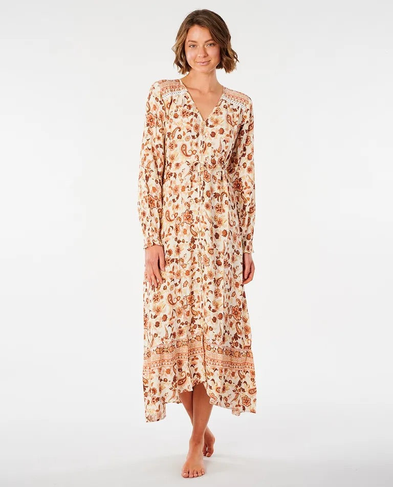 Rip Curl Desert Dawn Maxi Dress - Cream