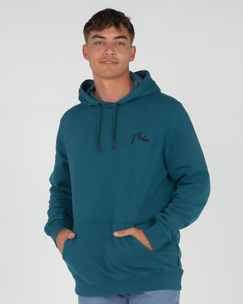 Rusty Competition Hooded Fleece - Blue Coral