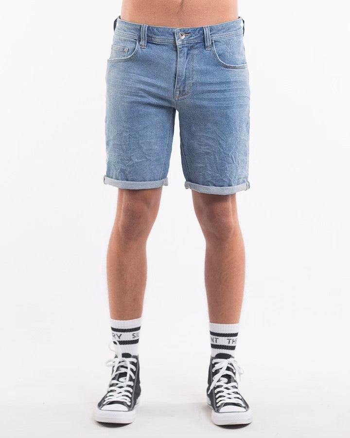 Silent Theory Shadow Short - Mid Blue