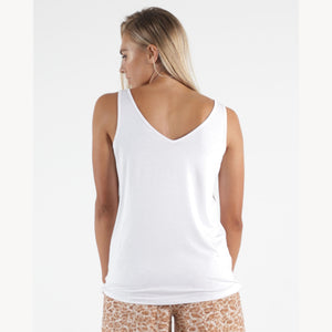 Betty Basics Dallas Reversible Tank - White