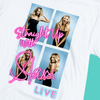 Distressed Straight Up With Stassi LIVE T-Shirt