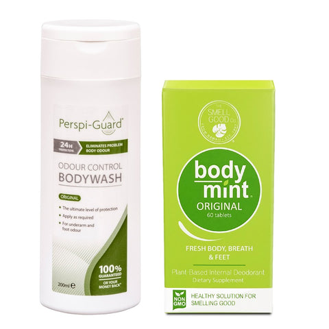 Kit Mal Olor Corporal Bromhidrosis (Body Mint + Perspi Guard)