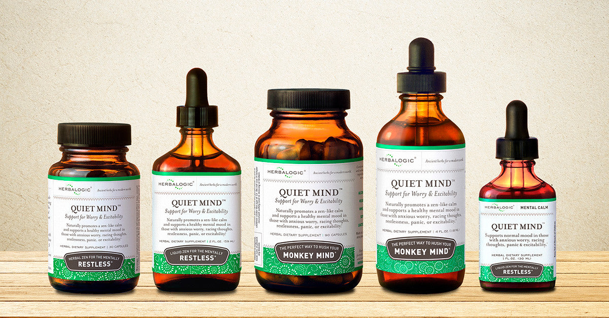 Quiet Mind Series Herbal Formulas