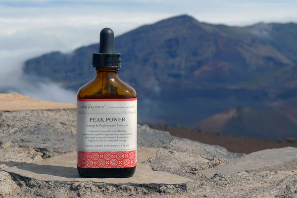 Peak Power from Herbalogic delivers natural and sustained herbal energy and performance, as well as support for high altitude sickness.