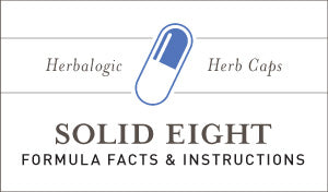 Herbal Supplement Fact Sheet: Herbalogic Solid Eight Herb Capsules | Natural Sleep Aid Containing Herbs for Sleep Long Used to Support Those with Occasional Insomnia