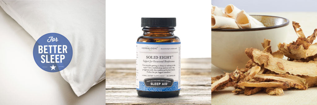 Shop Solid Eight Herb Caps by Herbalogic. Herbal Sleep Aid for Support of Occasional Sleeplessness.