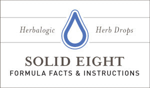 Herbal Supplement Fact Sheet: Herbalogic Solid Eight Herb Drops | Natural Remedy Contains Herbs for Sleeplessness - Herbal Sleep Aids