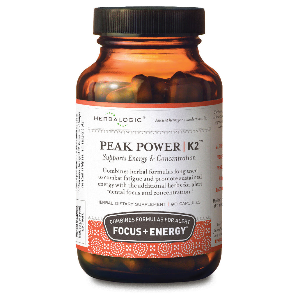Herbalogic Peak Power™ K-2 Capsules