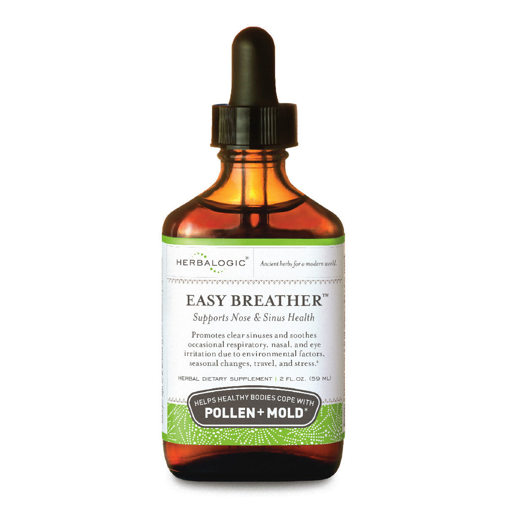 Easy Breather Herb Drops (2 oz.) for Pollen, Mold, Pollution, Vog, and Other Airborne Irritants