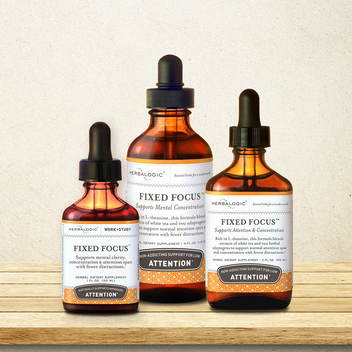 Herbs for Concentration, Focus, and Calm by Herbalogic
