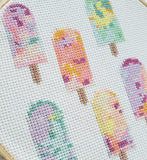 Popsicle Multi Cross Stitch Kit