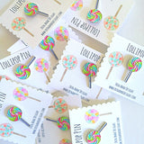 Lollipop Lapel Pin