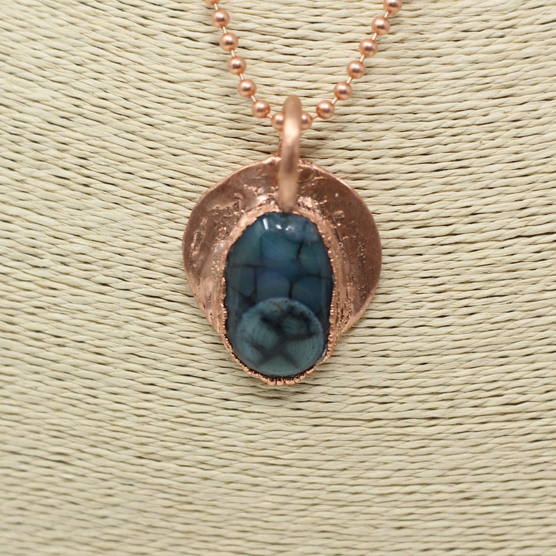 Blue Dragons Vein Agate