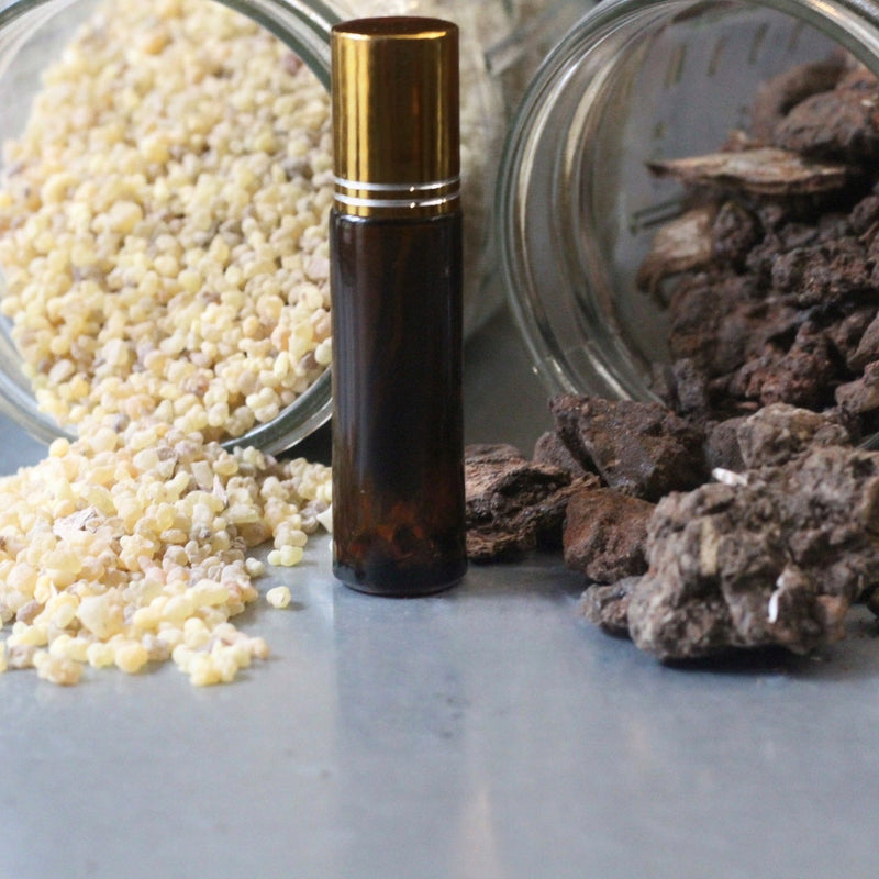 Frankincense and Myrrh Healing Oil