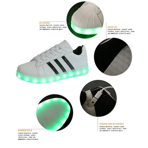 USB Charging Light up Shoes Sports LED Shoes Dancing Sneakers-Clothes & Accessories-Unishouse.com-Unishouse