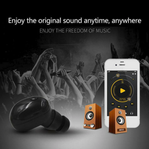 Waterproof Bluetooth Earphone-Automobiles & Phone Accessories-unishouse.com-BLACK-Unishouse.com