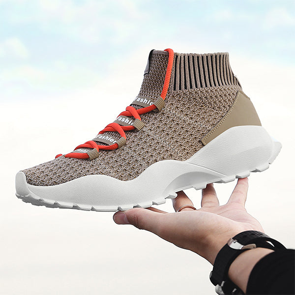 Lightweight Breathable Casual Mesh Running Shoes for Men-man's shoes-carsoho.com-KHAKI-39-carsoho