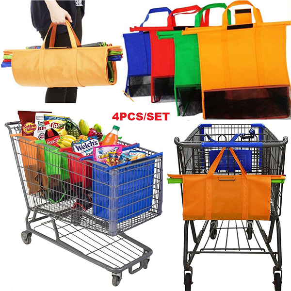 Convenient Trolley Grocery Shopping Bags-Home & Garden-unishouse.com-Unishouse.com
