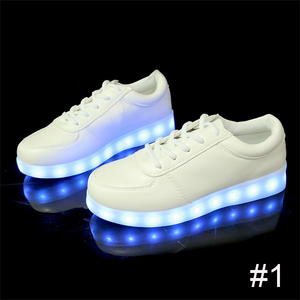 USB Charging Light up Shoes Sports LED Shoes Dancing Sneakers-Clothes & Accessories-Unishouse.com-#1-34-Unishouse