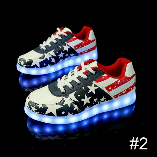 USB Charging Light up Shoes Sports LED Shoes Dancing Sneakers-Clothes & Accessories-Unishouse.com-#2-34-Unishouse