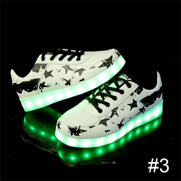 USB Charging Light up Shoes Sports LED Shoes Dancing Sneakers-Clothes & Accessories-Unishouse.com-#3-34-Unishouse