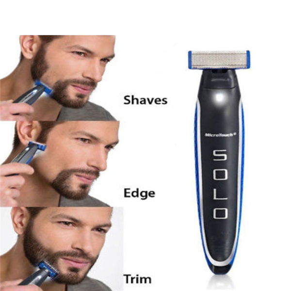 Micro Touch Solo Rechargeable Shaver-Health Care-carsoho.com-carsoho