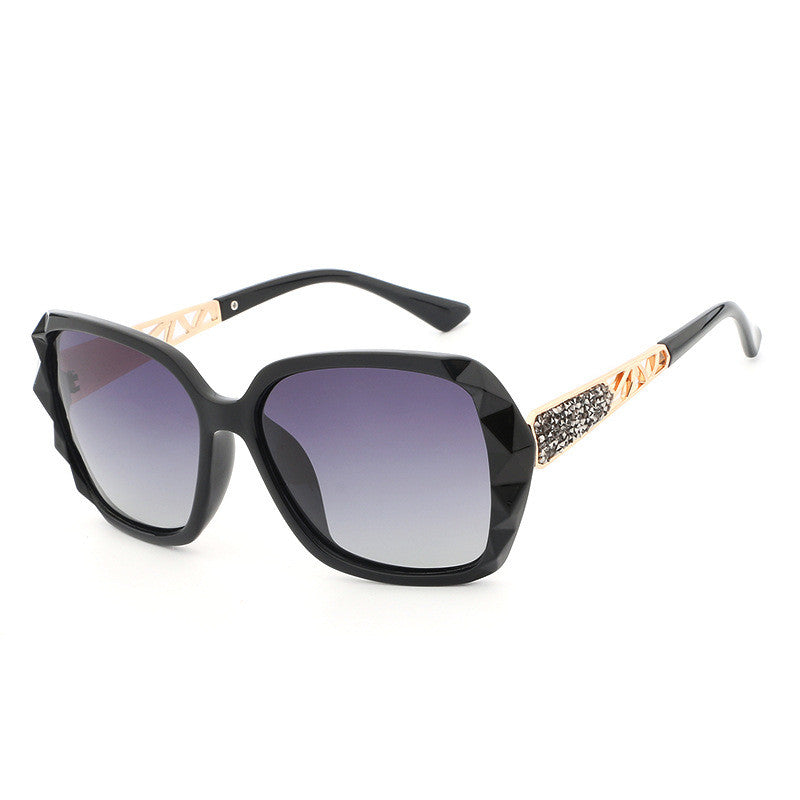 Star Style Oversized Vintage Outdoor Sunglasses-Clothes & Accessories-carsoho.com-BLACK-carsoho