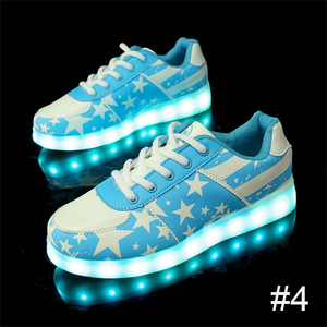 USB Charging Light up Shoes Sports LED Shoes Dancing Sneakers-Clothes & Accessories-Unishouse.com-#4-34-Unishouse