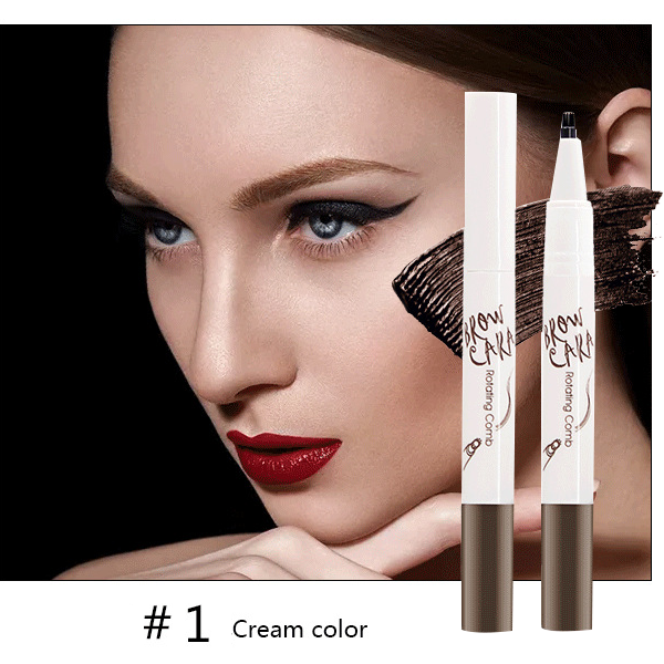 Tattoo Eyebrow Pen with Ten Tips-Beauty-unishouse.com-#1 Cream color-Unishouse