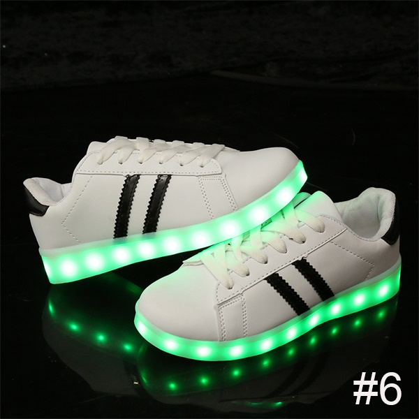 USB Charging Light up Shoes Sports LED Shoes Dancing Sneakers-Clothes & Accessories-Unishouse.com-#6-34-Unishouse