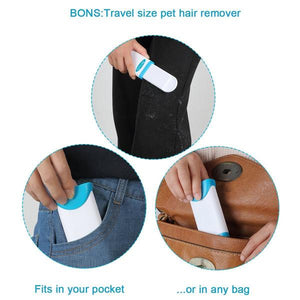 Reusable Double Sided Fur Remover Travel&Household-Pets-unishouse.com-Large-Unishouse.com