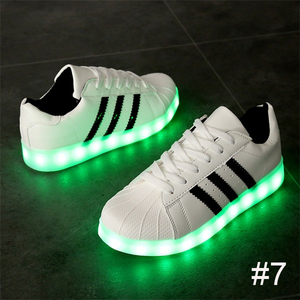 USB Charging Light up Shoes Sports LED Shoes Dancing Sneakers-Clothes & Accessories-Unishouse.com-#7-34-Unishouse