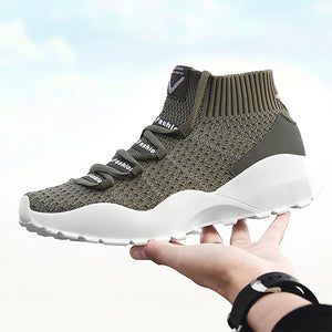 Lightweight Breathable Casual Mesh Running Shoes for Men-man's shoes-carsoho.com-ARMY GREEN-39-carsoho