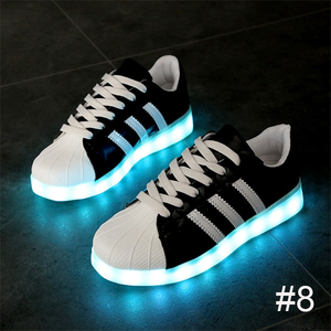 USB Charging Light up Shoes Sports LED Shoes Dancing Sneakers-Clothes & Accessories-Unishouse.com-#8-34-Unishouse