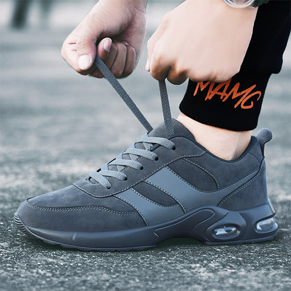 Lightweight Sports Mens Air Cushion Running Shoes-man's shoes-carsoho.com-GREY-39-carsoho