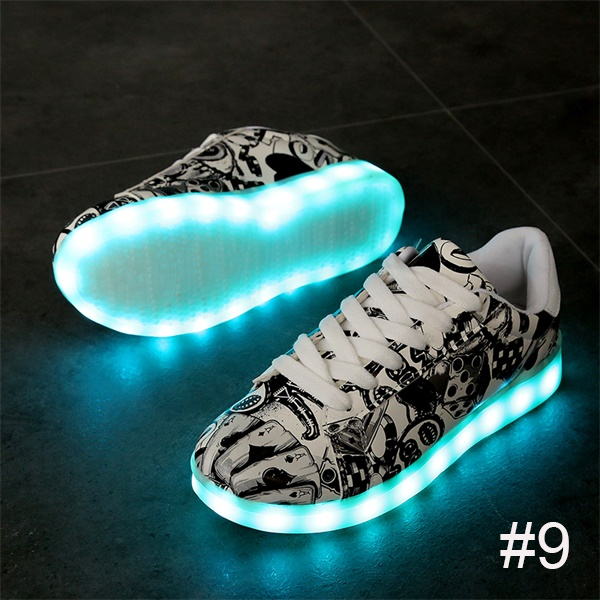 USB Charging Light up Shoes Sports LED Shoes Dancing Sneakers-Clothes & Accessories-Unishouse.com-#9-34-Unishouse