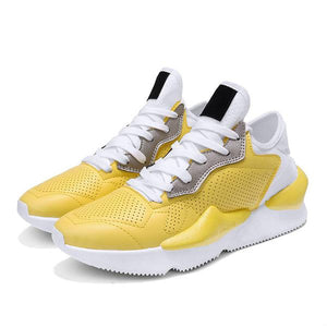 Hot Vintage Style Fashion Light Breathable Casual Shoes-man's shoes-carsoho.com-YELLOW-39-carsoho