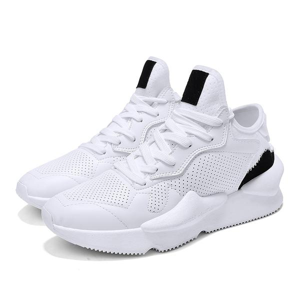 Hot Vintage Style Fashion Light Breathable Casual Shoes-man's shoes-carsoho.com-WHITE-39-carsoho