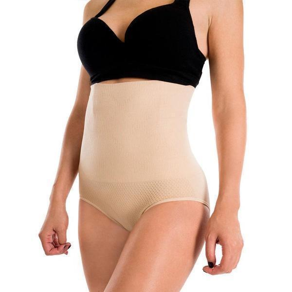 Ultra-Thin High Waist Shapewear Panty-Clothes & Accessories-carsoho.com-NUDE-M-carsoho