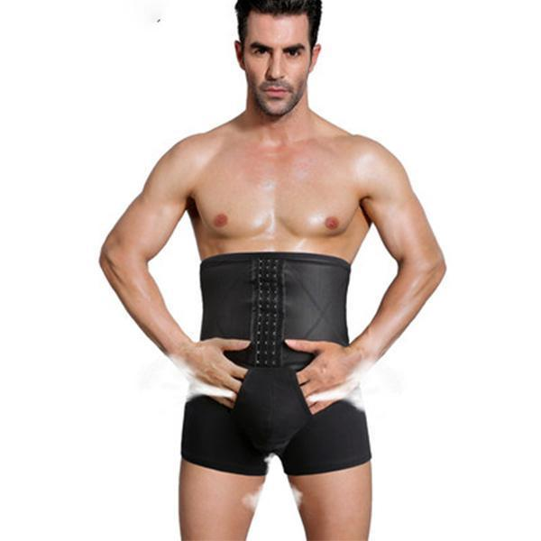 High Waist Tummy Control Elastic Shapewear Underwear for Men-Apparel & Accessories-Romancci.com