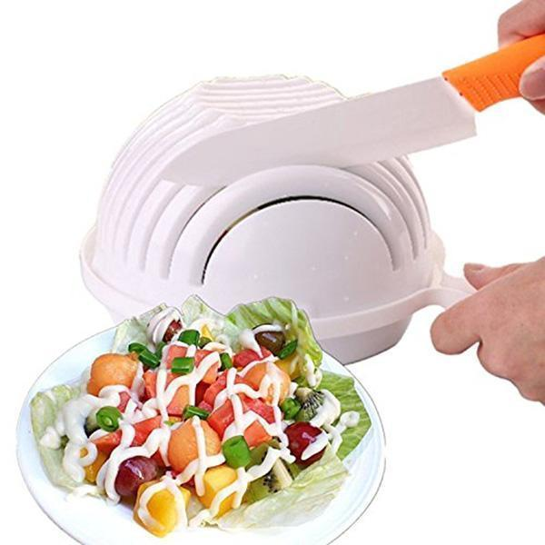 Hot Multi-functional Salad Cutter Bowl-Kitchen Tools & Utensils-Romancci.com