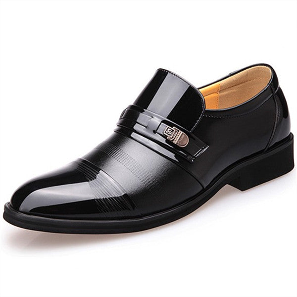 New Fashion High Quality British Style Men Oxford Shoes-man's shoes-carsoho.com-BLACK-38-carsoho