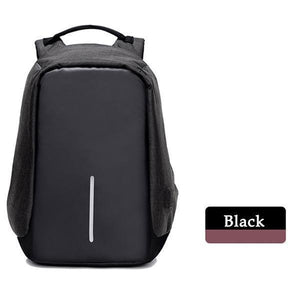 Multifunctional Anti-theft Backpack-Bags-Prime4Choice.com-Black Backpack-