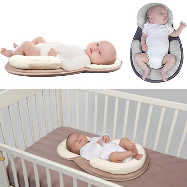 Portable Baby Bed Mattress Anti-Roll Baby Pillow-Kids & Baby-Romancci.com