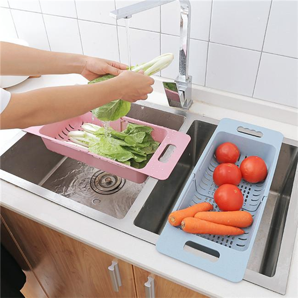 Retractable Drain Basket-Kitchen Tools & Utensils-Romancci.com