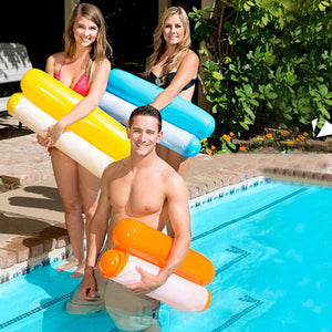 Swimming Pool Foldable Inflatable Floating Chair-Home & Garden-carsoho.com-BLUE-carsoho