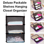 Deluxe Packable Shelves Hanging Closet Organizer-Clothes & Accessories-carsoho.com-S: 45*27*46cm-carsoho